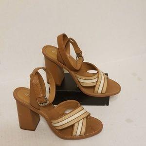 Coach high heel shoes women's size 9